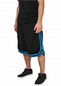 РЁРћР РўР« URBAN CLASSICS STRIPES MESH SHORTS (BLACK-TURQUOISE-BLACK, XL)