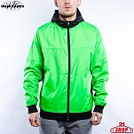 ВЕТРОВКА URBAN CLASSICS ATHLETIC WINDRUNNER (INFRARED-BLACK, XL)