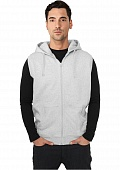 ТОЛСТОВКА URBAN CLASSICS MELANGE SLEEVLESS ZIP HOODY (C-GREEN, XL)