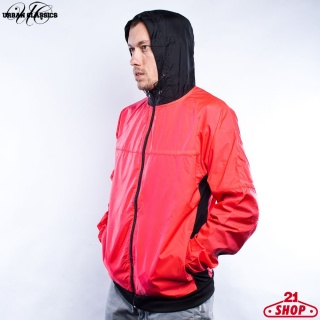 ВЕТРОВКА URBAN CLASSICS ATHLETIC WINDRUNNER (INFRARED-BLACK, 3XL)