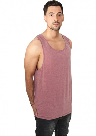 МАЙКА URBAN CLASSICS BURNOUT JERSEY BIG TANK (RUBY, 2XL)
