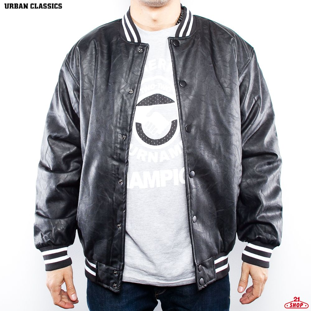 РљРЈР РўРљРђ URBAN CLASSICS LEATHER COLLEGE JACKET